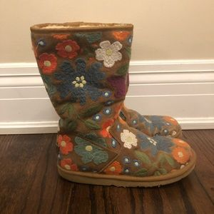 Embroidered uggs